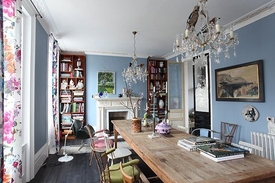 Sala da pranzo modern vintage: spunti utili per illuminare gli ...