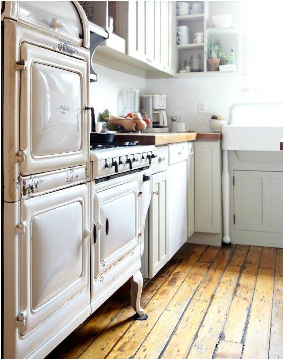 una bellissima cucina vintage..
