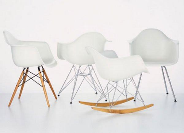 2) la Eiffel chair di Charles Eames