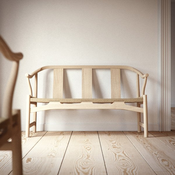 Chinese bench, Hans Wegner 1946
