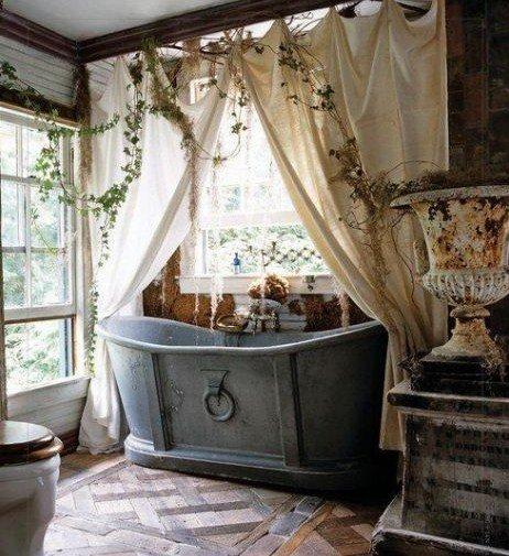 Un bagno magico, dalla vasca al parquet