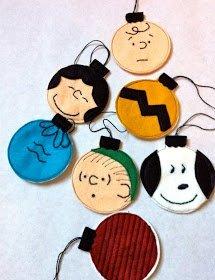 Bellissime..perchè amo Peanuts e perchè potrete farle con i bimbi