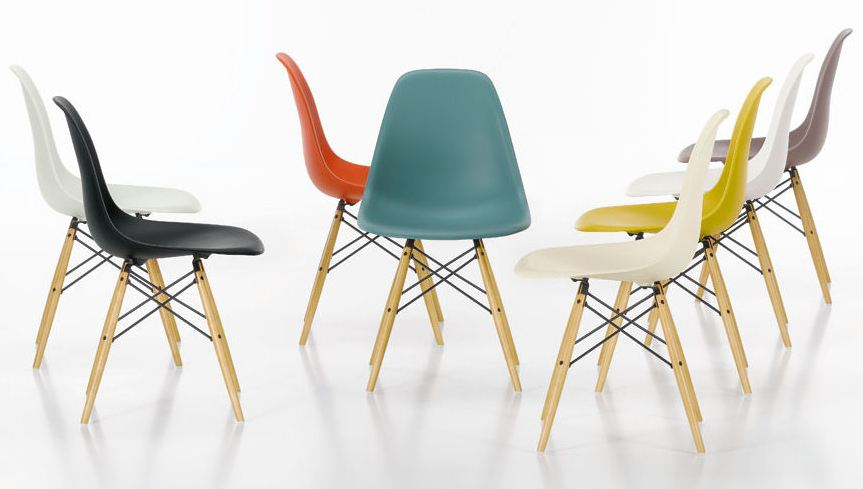 eames sedie a casa di ro. Black Bedroom Furniture Sets. Home Design Ideas
