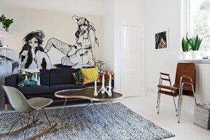 sedia a dondolo Charles Eames