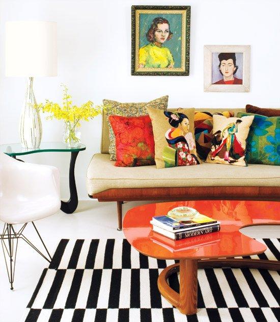 modernariato con una passione per il giappone. La poltroncina Charles Eames.