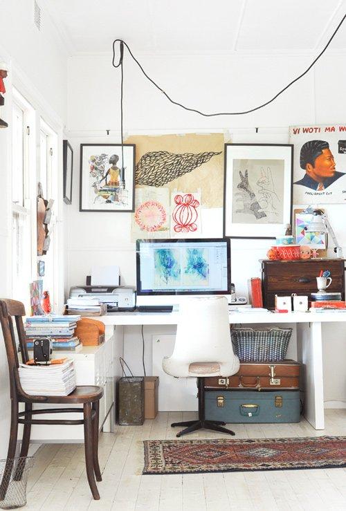 disordine, design, vintage, shabby..c'è tutto ma perfettamente armonizzato.