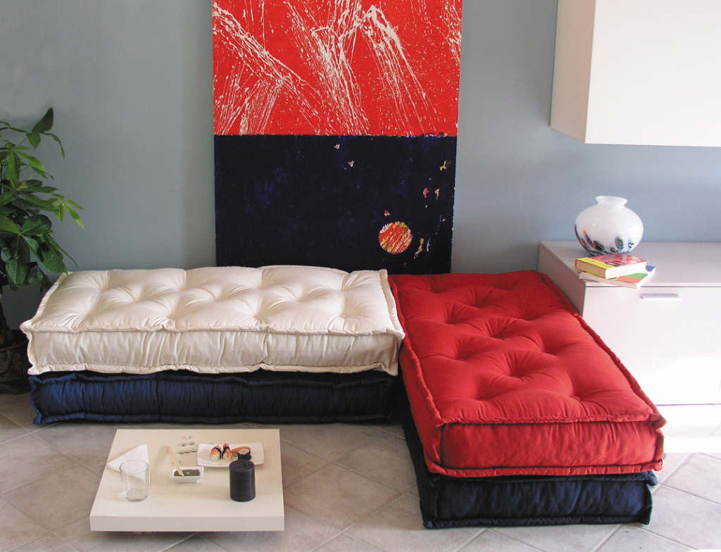 Recycling a casa di ro for Materassi x divano letto
