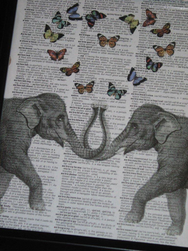 elephant in love