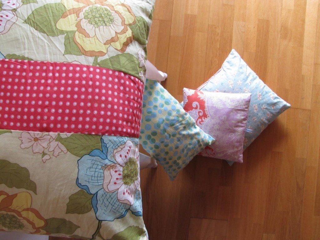 flowerpot e cuscini Aina