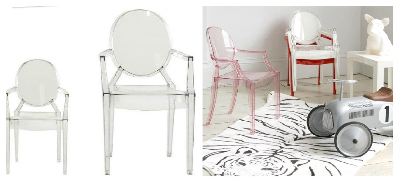 louis ghost by philippe starck a casa di ro. Black Bedroom Furniture Sets. Home Design Ideas