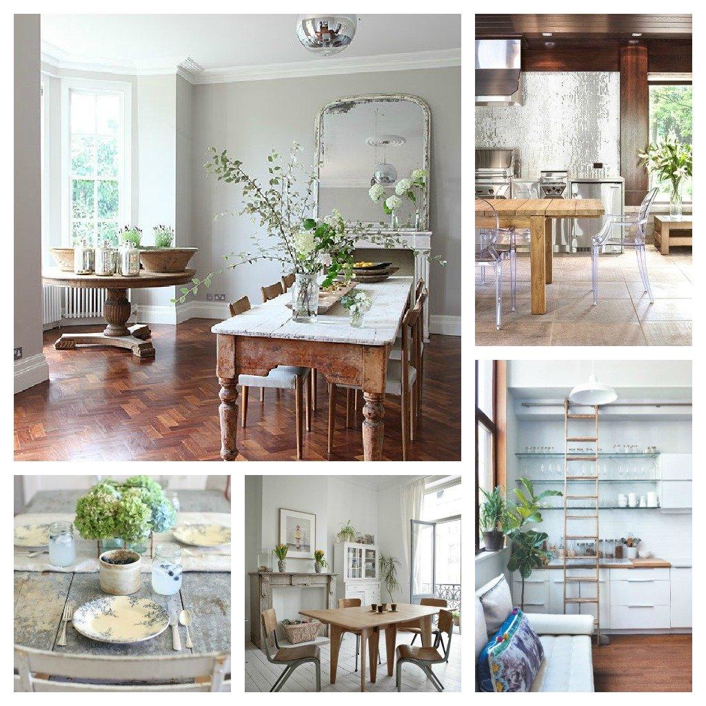 legno, bianco e il verde delle piante..per un ambiente provenzale o di design.