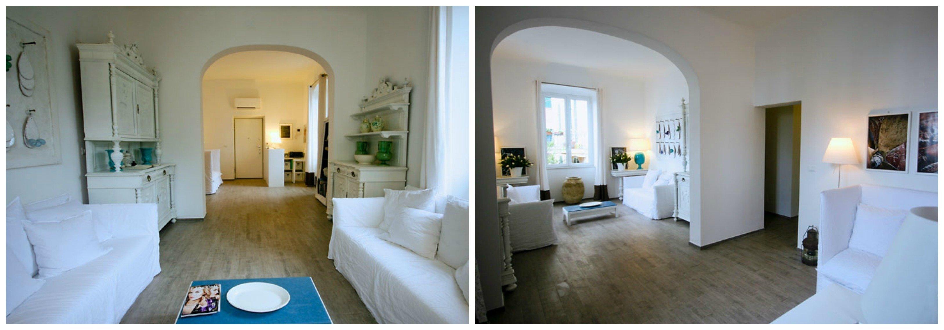 arco dentro casa moderno : Arco mediterraneo - A Casa di Ro