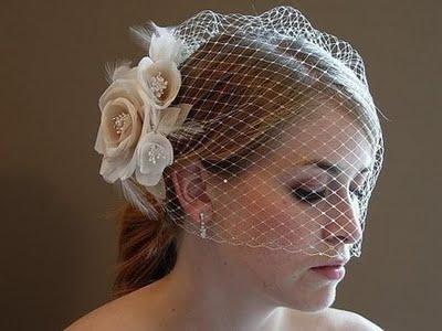 Adoro la veletta per la sposa!