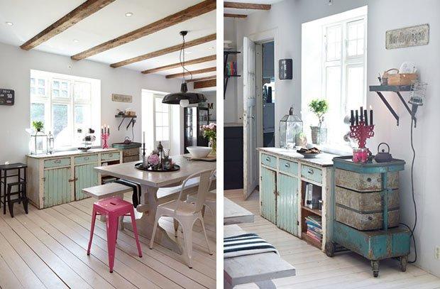Top salotto stile scandinavo soggiorno stile shabby parete for Arredamento nordico