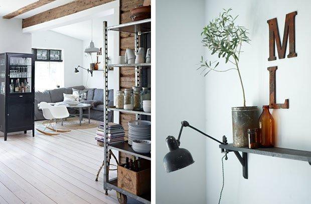 ..proprio come gli ambienti che vi propongo in questo post. Una casa nordica, piena di luce, con tocchi molto personali e alcuni progetti DIY.