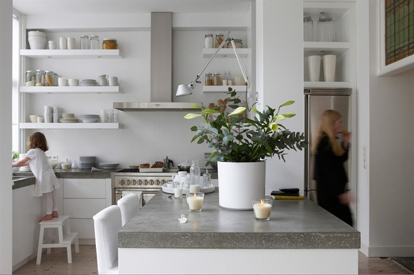 Ispirazioni scandinave a casa di ro - Deco witte keuken ...