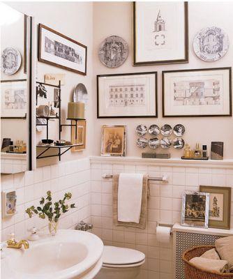 Il bagno una stanza da non nascondere a casa di ro - Quadri da mettere in bagno ...