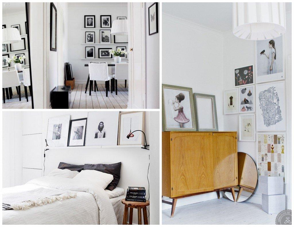 Ispirazioni scandinave a casa di ro - Pensili sopra letto ...