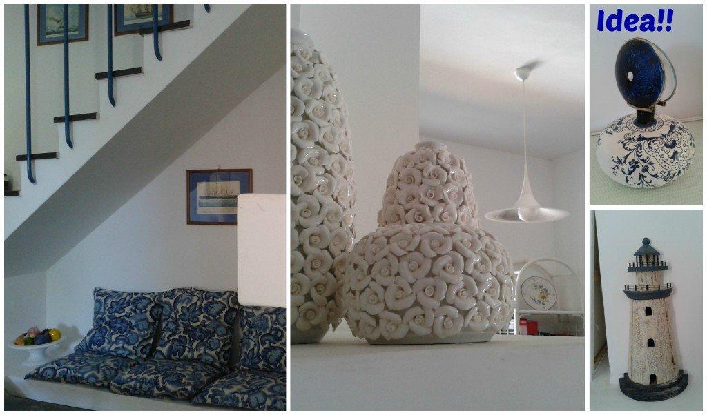 Idea: il mio nonnino ha trasformato una bomboniera, un vaso, in una bellissima lampada.
