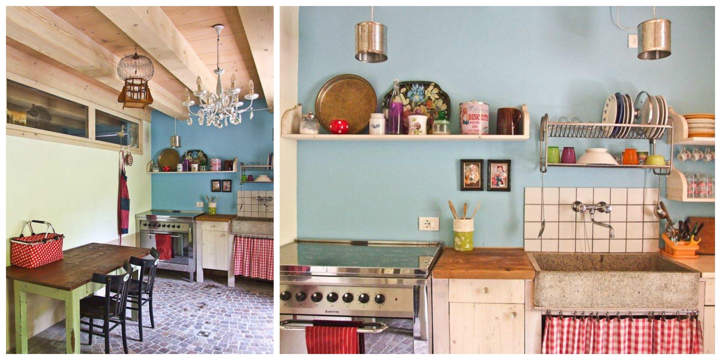 cucina in giardino - A Casa di Ro