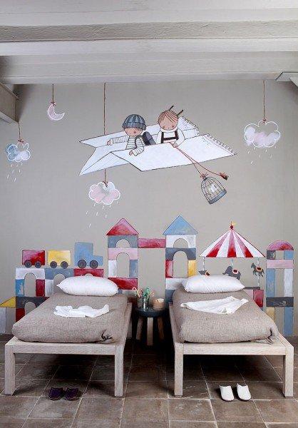 murales bedroom children