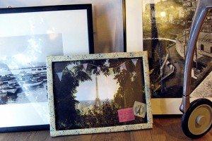 cornice fotografia handmade