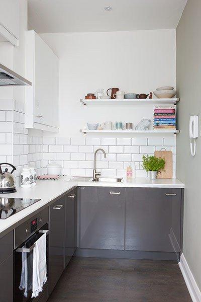 I mattoncini: li adoro, in cucina e in bagno.