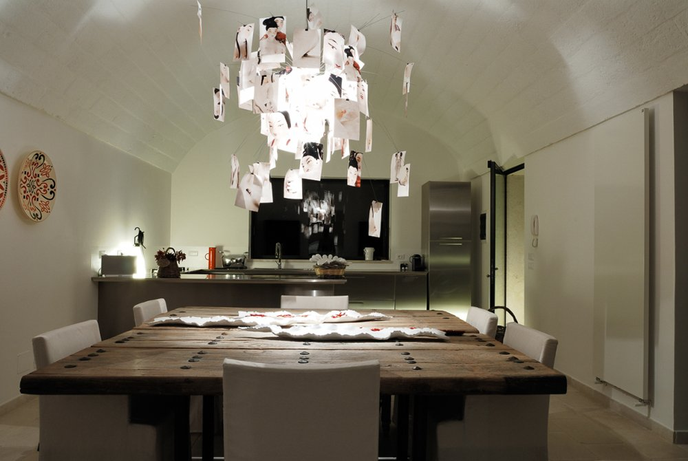Lampadari Su Tavolo Legno E Acciaio ~ La Scelta Giusta Per il Design Domestico