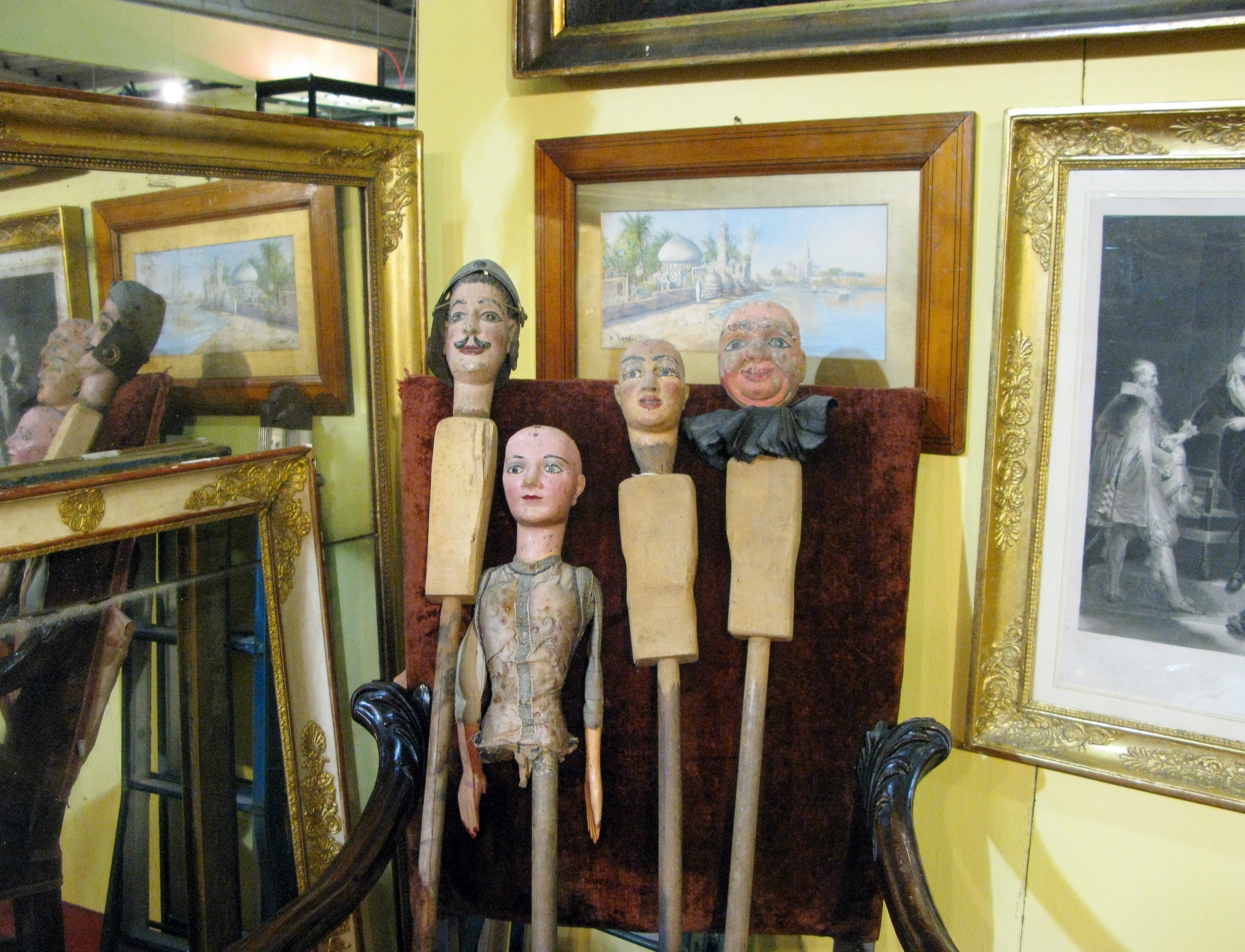 Marionette a casa di ro for A casa di ro