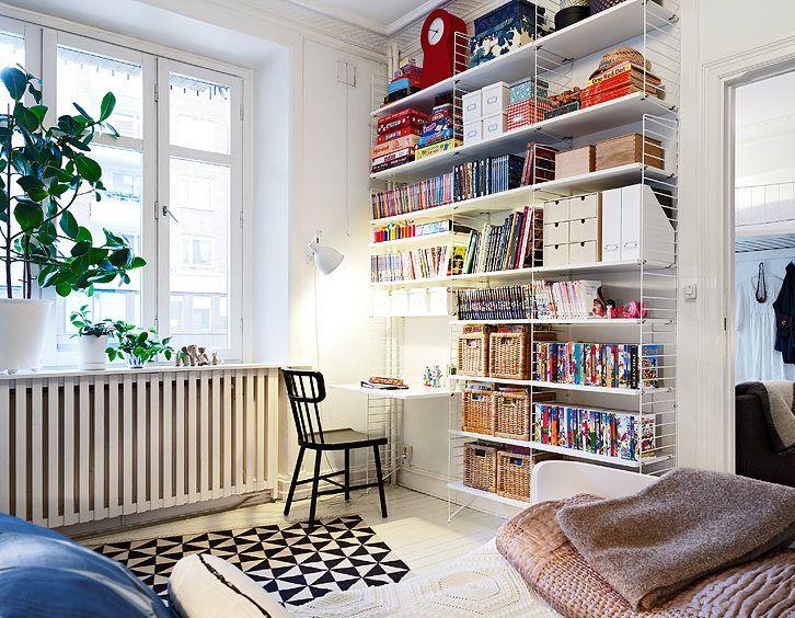libreria con scrivania - A Casa di Ro