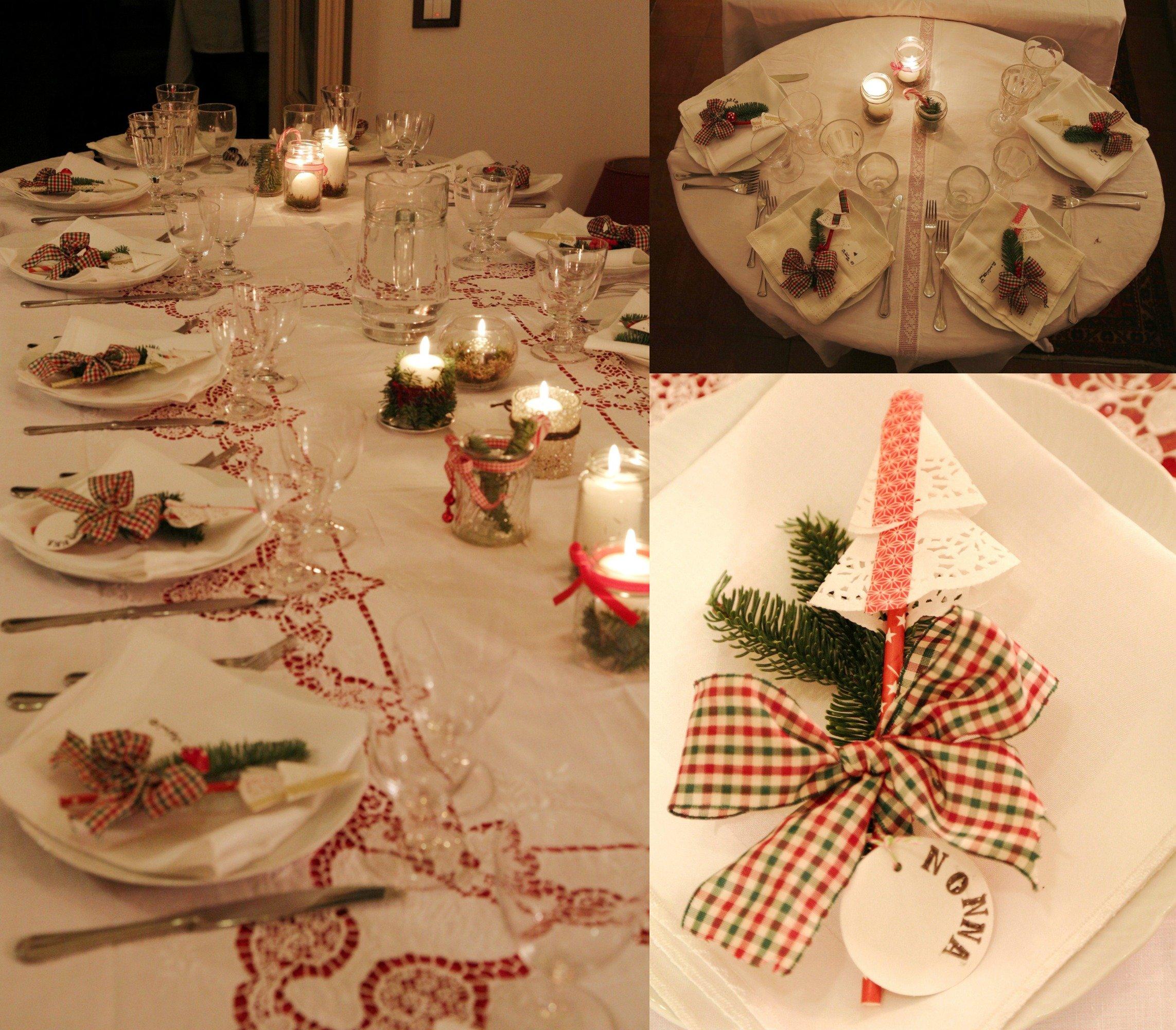 Decorazione tavola a casa di ro - Decorazioni tavola capodanno fai da te ...