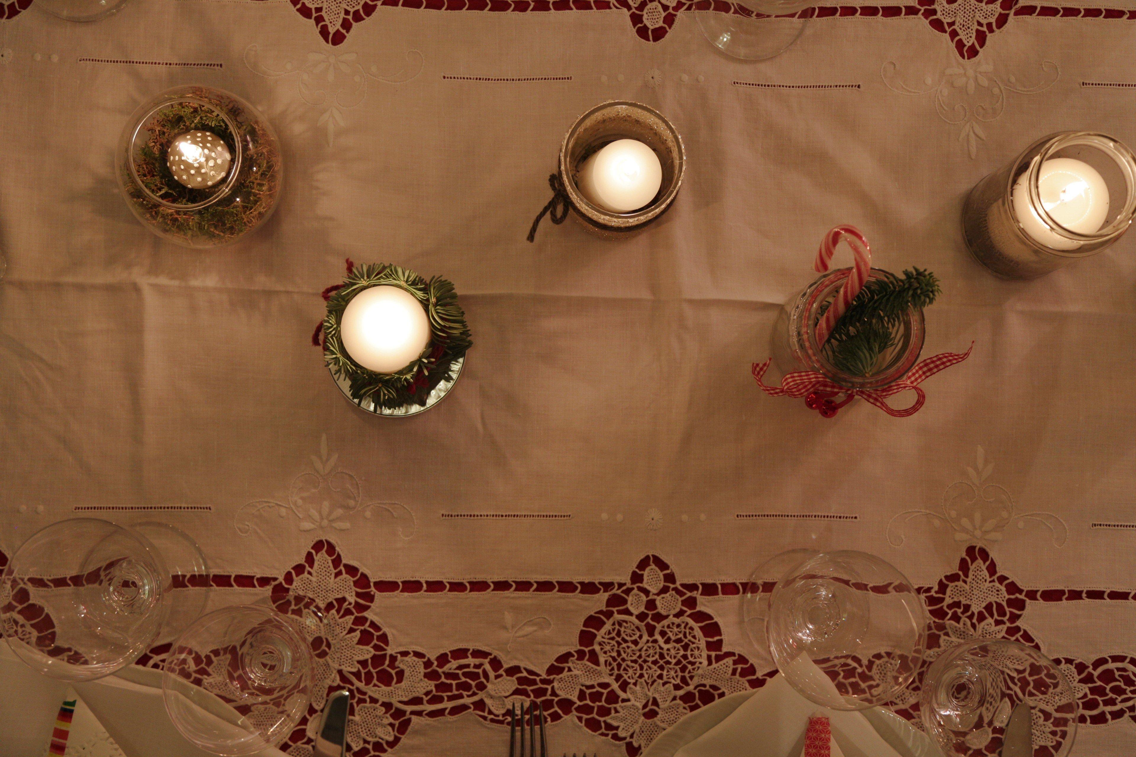 centrotavola candele