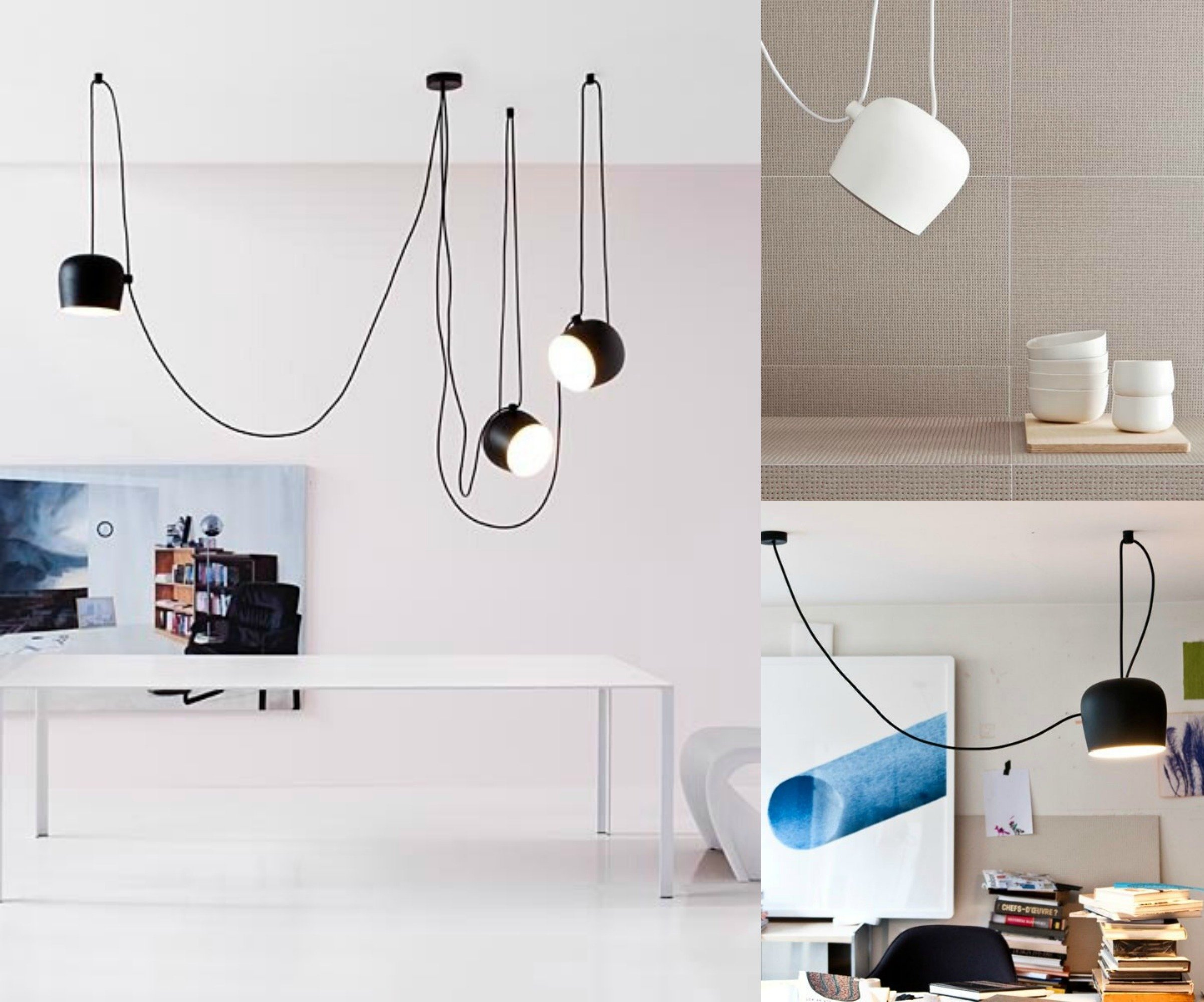 Lampade a sospensione filo colorato design casa creativa - Plafoniere bagno ikea ...