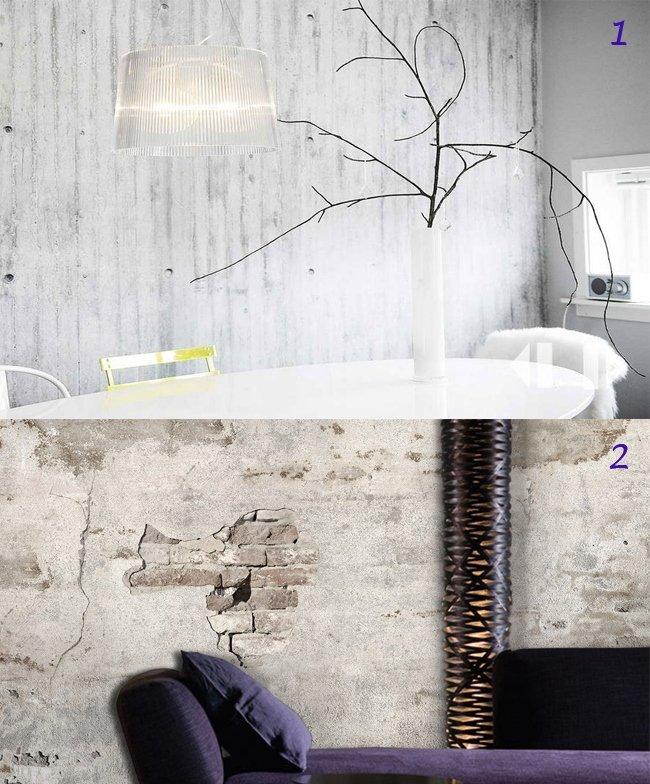 wall paper beton
