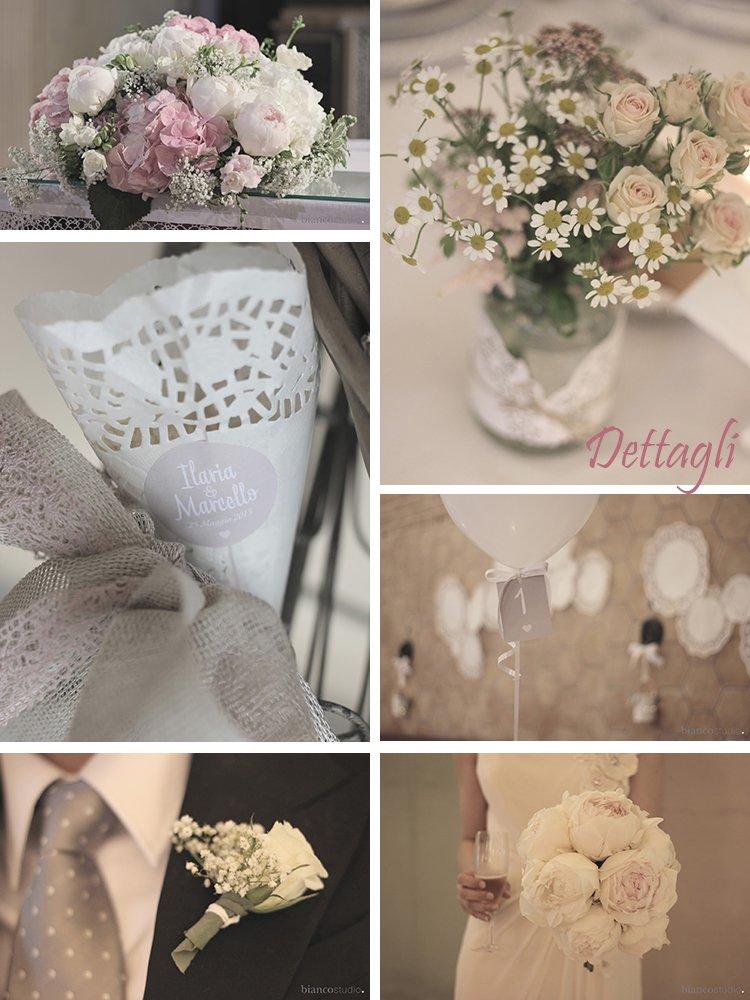 colori matrimonio romantico