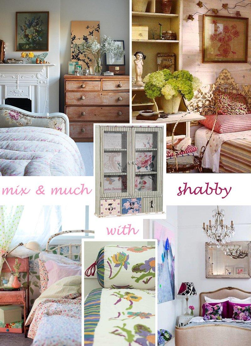 Come arredare la camera da letto a casa di ro Oggetti vintage per casa