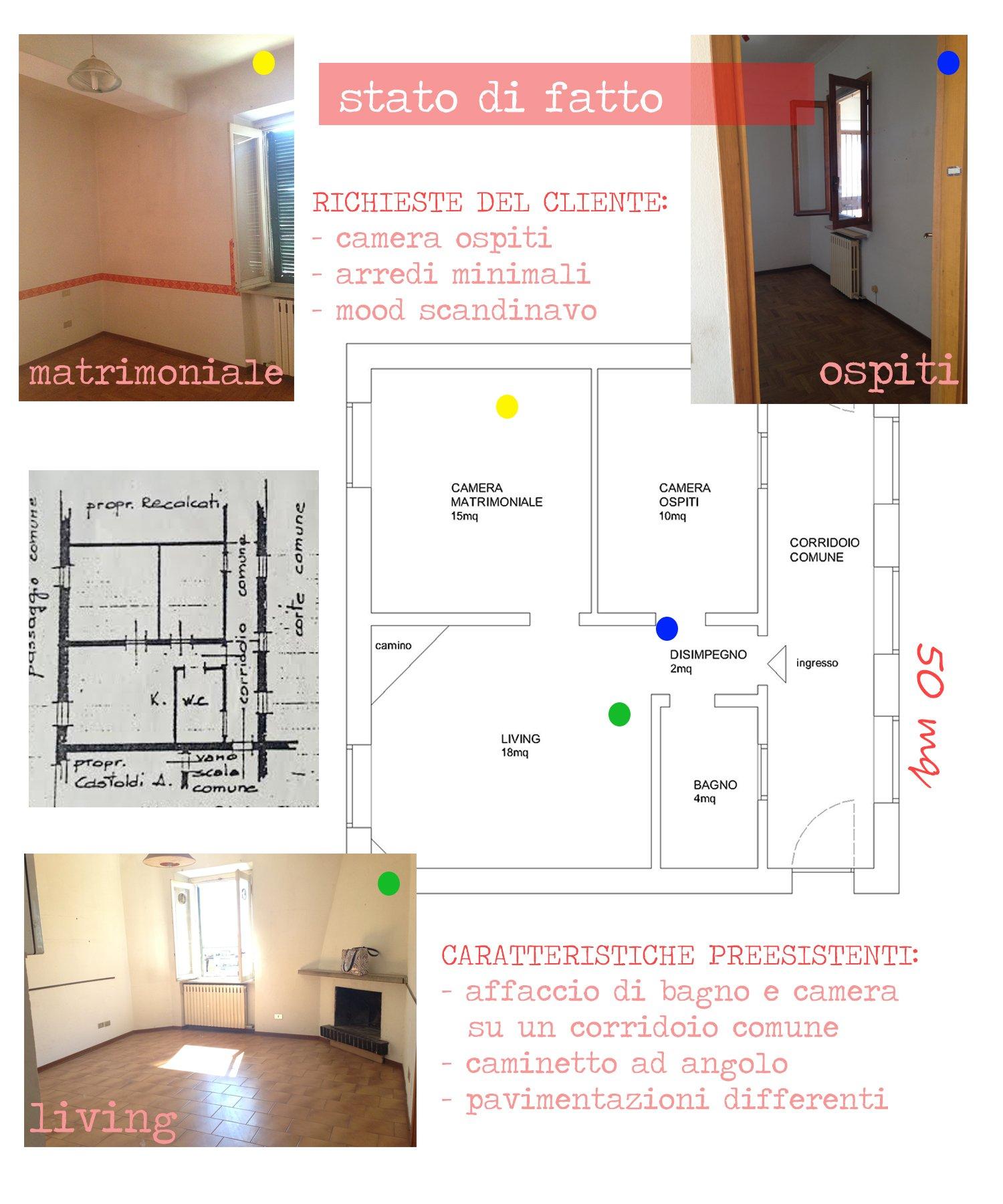 progetto restyling appartamento