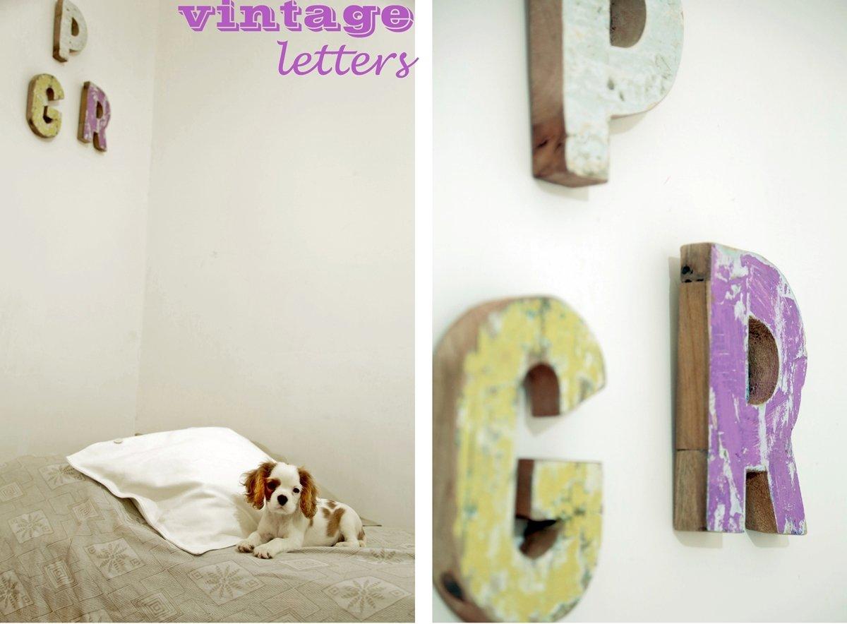 Lettere Di Legno Ikea : Lettere legno vintage a casa di ro