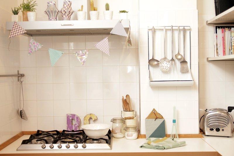 Mood scandinavo nella mia cucina a casa di ro - Cucina living ikea ...