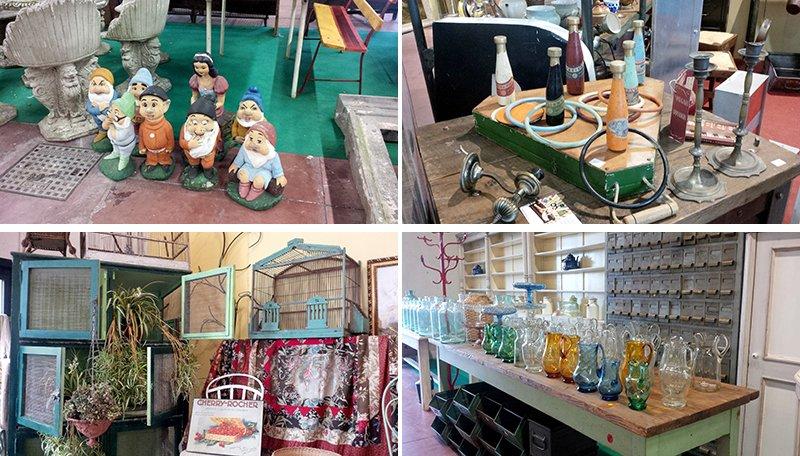 giocattoli in legno vintage