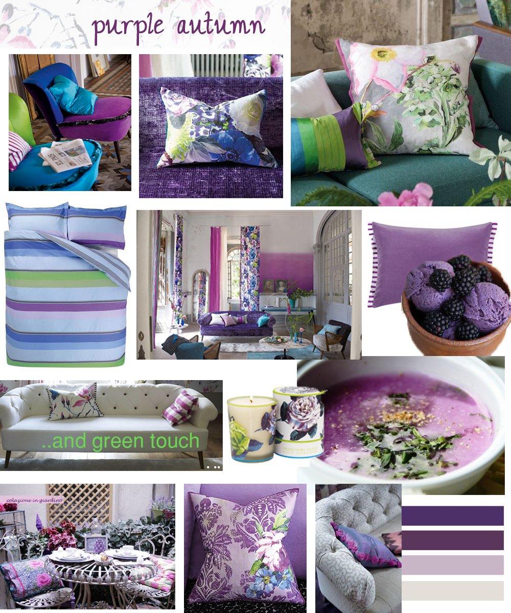 purple forniture