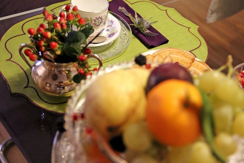 Busatti table setting