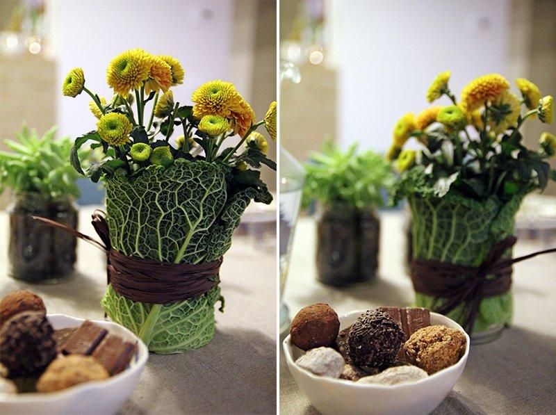 A pranzo con le spezie a casa di ro for Decorazioni con verdure e ortaggi