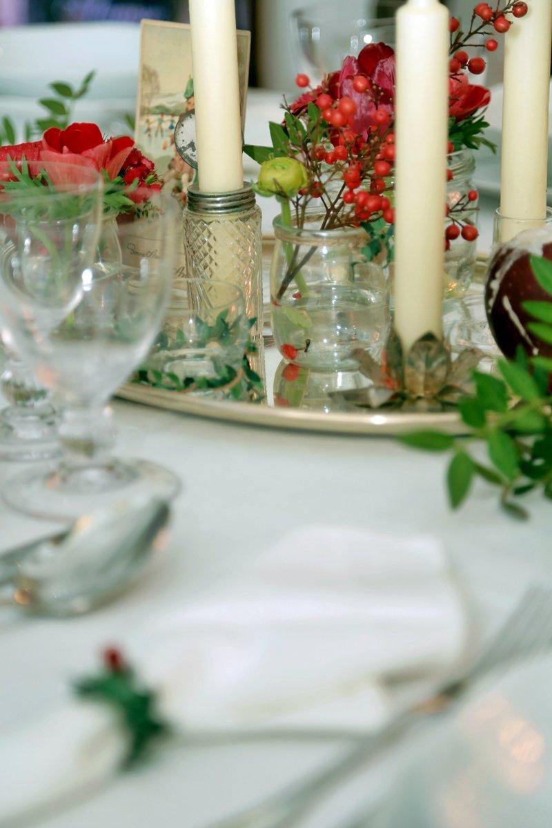 apparecchiare una tavola elegante