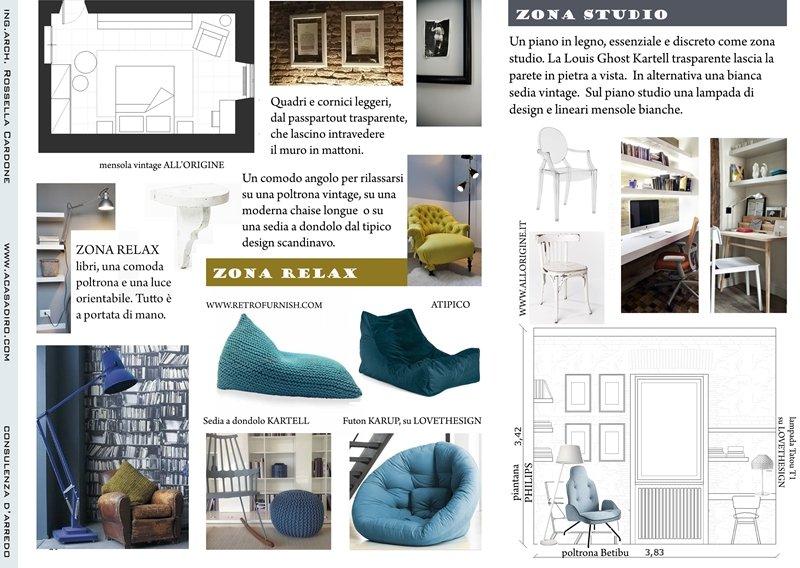A casa di ro interior design and style for Arredo studio design