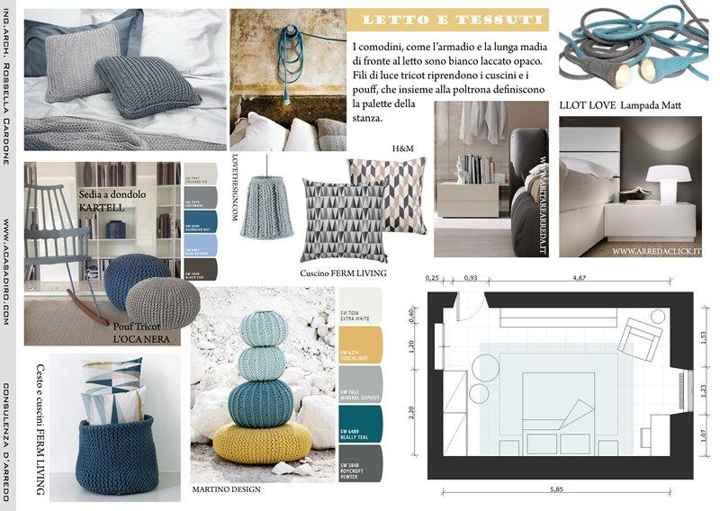Camera Da Letto Blu Balena : Camera da letto del bambino in bianco e blu u foto stock