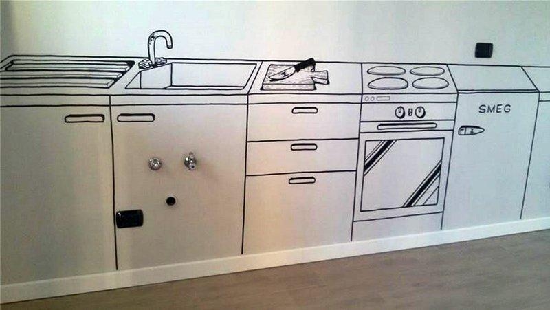 di cucine bidimensionali e novit in arrivo a casa di ro. Black Bedroom Furniture Sets. Home Design Ideas