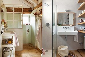 Bagno piccolo vincolo progettuale o sfida creativa a casa di ro