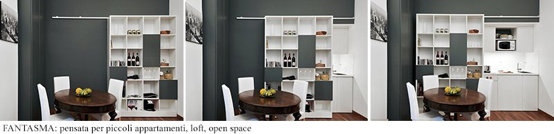 cucina piccola per open space