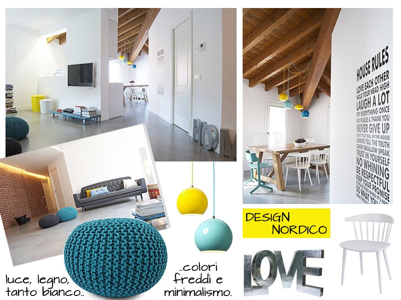 Declinando lo stile scandinavo a casa di ro for Casa stile scandinavo